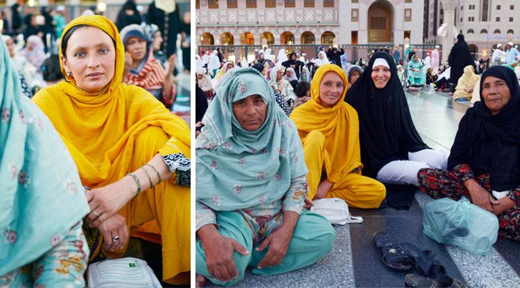 Muhteşem! Dünyanın bütün renkli Müslümanları bir arada!